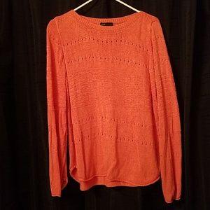Beautiful coral sweater